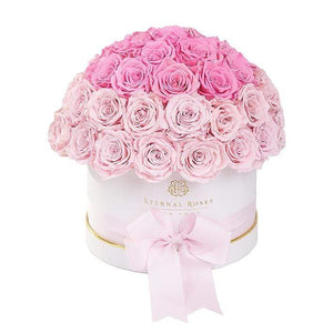 Eternal Roses® White / Rose Soiree Estella Gift Box
