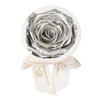 Eternal Roses® Silver Eternal Rose Party Favor