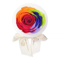 Eternal Roses® Rainbow Eternal Rose Party Favor