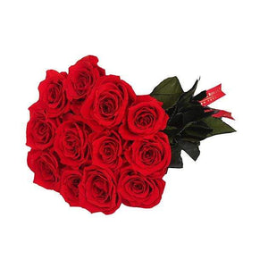 Eternal Roses® 12 Roses / Scarlet Eternal Roses Flower Bouquet-Local Pick up only