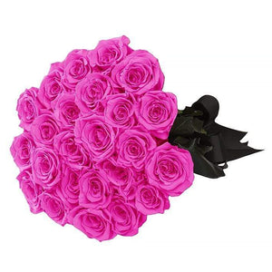 Eternal Roses® 24 Roses / Hot Pink Eternal Roses Bouquet-Local Pick up only
