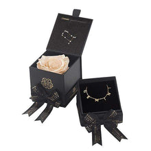 Eternal Roses® Gemini Astor Box & Necklace Bundle