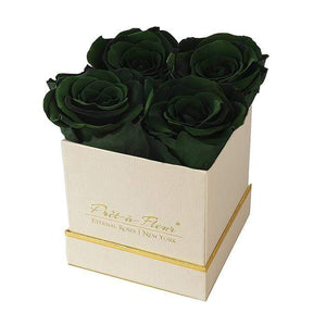 Eternal Roses® Gift Box Shimmery Gold / Wintergreen Lennox Gift Box