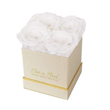 Eternal Roses® Gift Box Shimmery Gold / Frost Lennox Gift Box