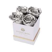 Eternal Roses® Gift Box White / Silver Lennox Gift Box