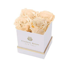 Eternal Roses® Gift Box White / Champagne Lennox Gift Box