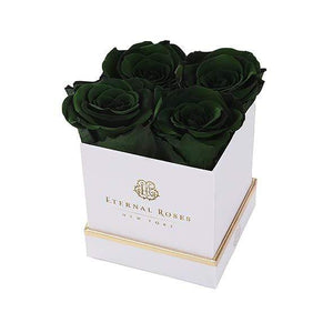 Eternal Roses® Gift Box White / Wintergreen Lennox Gift Box