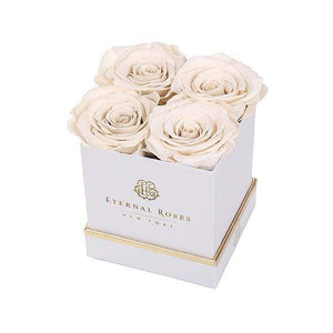 Eternal Roses® Gift Box White / Pearl Lennox Gift Box