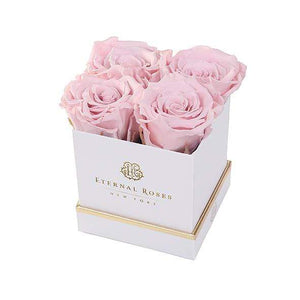 Eternal Roses® Gift Box White / Blush Lennox Gift Box