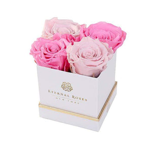 Eternal Roses® Gift Box White / Harlequin Lennox Gift Box
