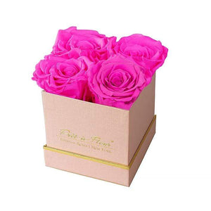 Eternal Roses® Gift Box Shimmery Pink / Hot Pink Lennox Gift Box