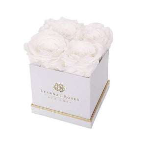 Eternal Roses® Gift Box White / Frost Lennox Gift Box