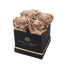 Eternal Roses® Gift Box Black / Gold Lennox Gift Box