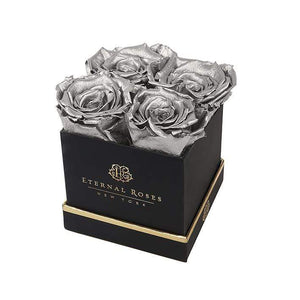 Eternal Roses® Gift Box Black / Silver Lennox Gift Box