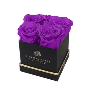 Eternal Roses® Gift Box Black / Orchid Lennox Gift Box