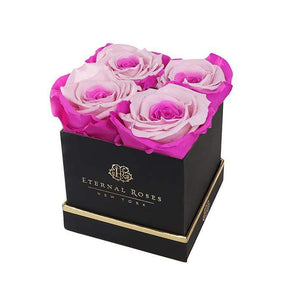 Eternal Roses® Gift Box Black / Fuschia Lily Lennox Gift Box