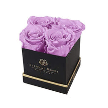 Eternal Roses® Gift Box Black / Lilac Lennox Gift Box