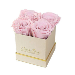 Eternal Roses® Gift Box Shimmery Gold / Blush Lennox Gift Box