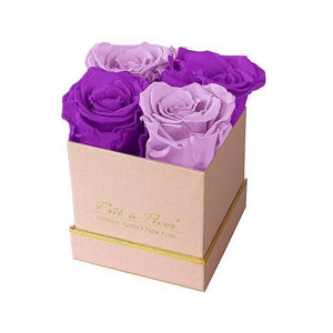 Eternal Roses® Gift Box Shimmery Pink / Mystic Orchid Lennox Gift Box