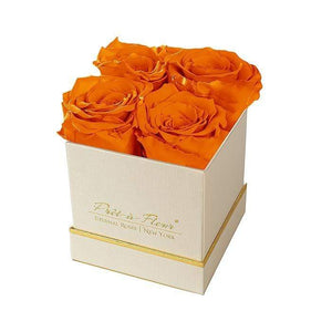 Eternal Roses® Gift Box Shimmery Gold / Sunset Lennox Gift Box