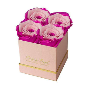 Eternal Roses® Gift Box Shimmery Pink / Fuschia Lily Lennox Gift Box