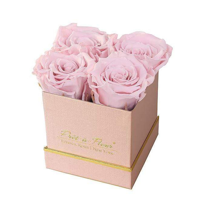Eternal Roses® Gift Box Shimmery Pink / Blush Lennox Small Gift Box - Shimmery Collection