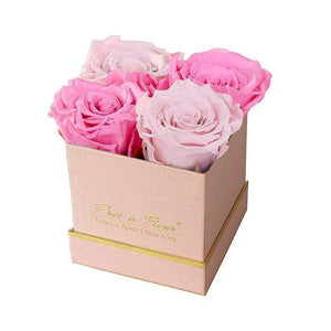 Eternal Roses® Gift Box Shimmery Pink / Harlequin Lennox Small Gift Box - Shimmery Collection