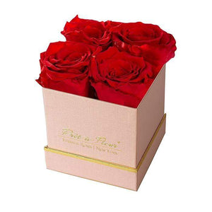 Eternal Roses® Gift Box Shimmery Pink / Scarlet Lennox Small Gift Box - Shimmery Collection