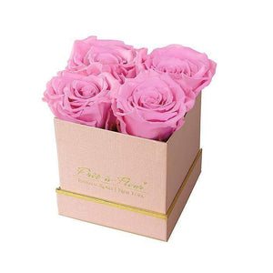 Eternal Roses® Gift Box Shimmery Pink / Primrose Lennox Small Gift Box - Shimmery Collection