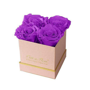 Eternal Roses® Gift Box Shimmery Pink / Orchid Lennox Small Gift Box - Shimmery Collection