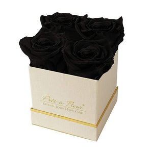 Eternal Roses® Gift Box Shimmery Gold / Midnight Lennox Small Gift Box - Shimmery Collection