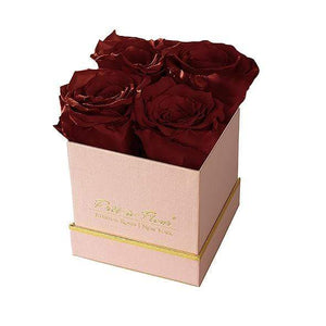Eternal Roses® Gift Box Shimmery Pink / Wineberry Lennox Small Gift Box - Shimmery Collection