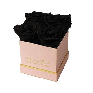 Eternal Roses® Gift Box Shimmery Pink / Midnight Lennox Small Gift Box - Shimmery Collection
