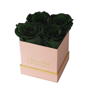 Eternal Roses® Gift Box Shimmery Pink / Wintergreen Lennox Small Gift Box - Shimmery Collection