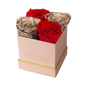 Eternal Roses® Gift Box Shimmery Pink / Holiday Cheer Lennox Small Gift Box - Shimmery Collection