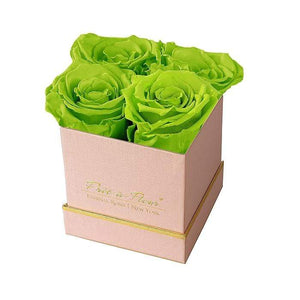 Eternal Roses® Gift Box Shimmery Pink / Mojito Lennox Small Gift Box - Shimmery Collection