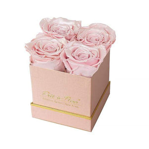 Eternal Roses® Gift Box Shimmery Pink / Pearly Pink Lennox Small Gift Box - Shimmery Collection