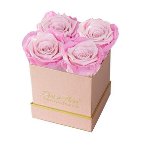 Eternal Roses® Gift Box Shimmery Pink / Rosette Lennox Small Gift Box - Shimmery Collection