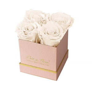 Eternal Roses® Gift Box Shimmery Pink / Pearl Lennox Small Gift Box - Shimmery Collection