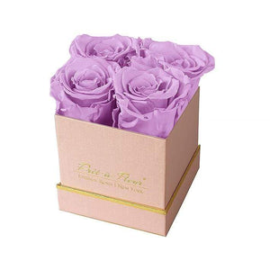 Eternal Roses® Gift Box Shimmery Pink / Lilac Lennox Small Gift Box - Shimmery Collection