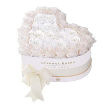 Eternal Roses® White / Mimosa Grand Chelsea Mezzo Eternal Rose Gift Box
