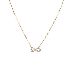 Eternal Roses® Infinity Pave Necklace