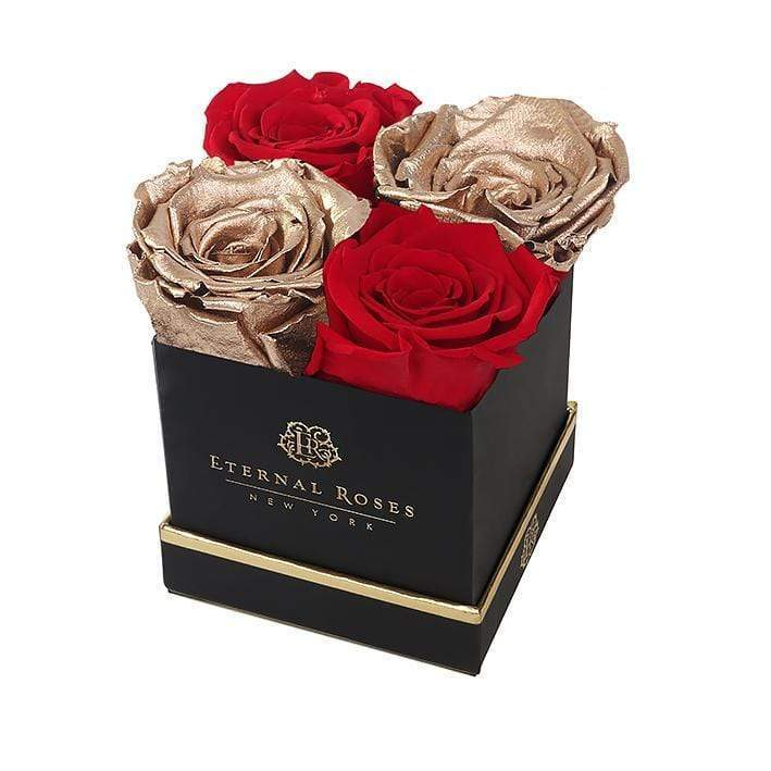 Eternal Roses® Black Lennox Gift Box in Be Mine