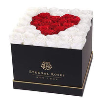 Eternal Roses® Black / Sweetheart Lennox Grand Amore Gift Box