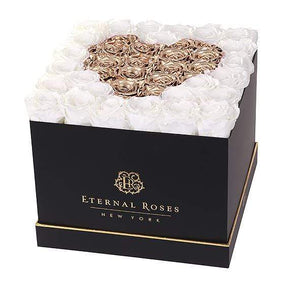 Eternal Roses® Black / Baroque Lennox Grand Amore Gift Box