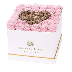 Eternal Roses® White / Posh Lennox Grand Amore Gift Box