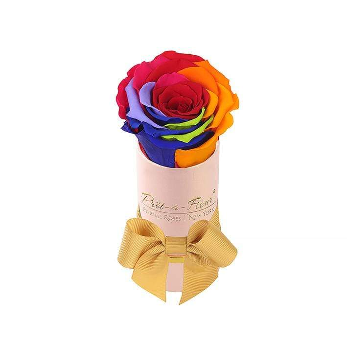 Eternal Roses® Liberty Gift Box Shimmery Pink in Rainbow Eternal Rose