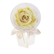 Eternal Roses® Canary Mini Eternal Rose Party Favor Set of 4