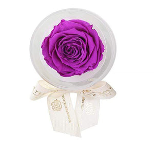 Eternal Roses® Orchid Mini Eternal Rose Party Favor Set of 6