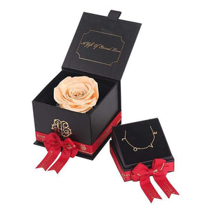 Eternal Roses® Mini Gift Box & Necklace Bundle